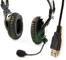 USB Vocal Headphone/Mic